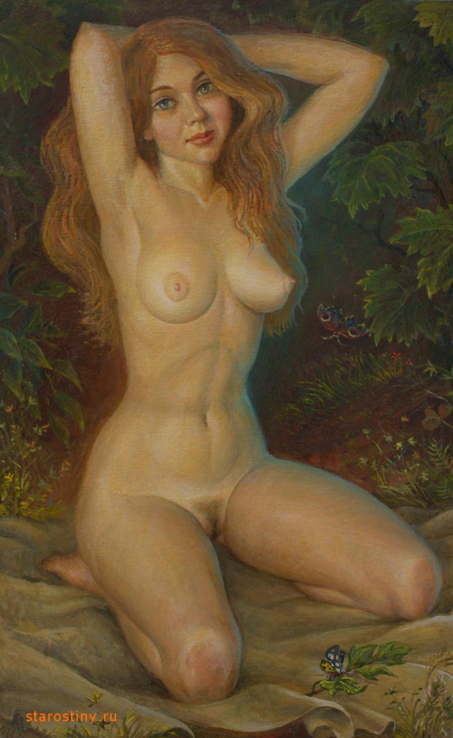 Художник рисует голую натурщицу а потом ебет ее 15 фотография