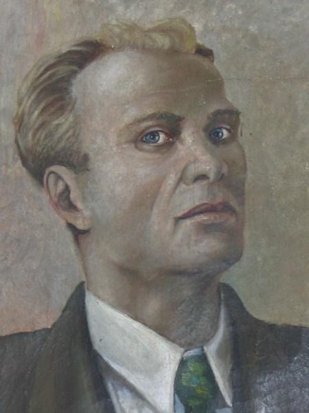 Старостин Василий Николаевич. Автопортрет.